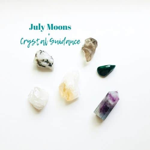 july moons and crystals