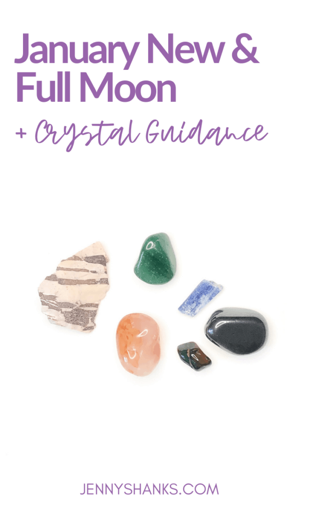 january moons and crystal guidance