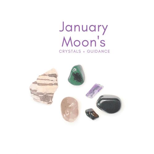 January New and Full Moon Crystal Guidance Jenny Shanks