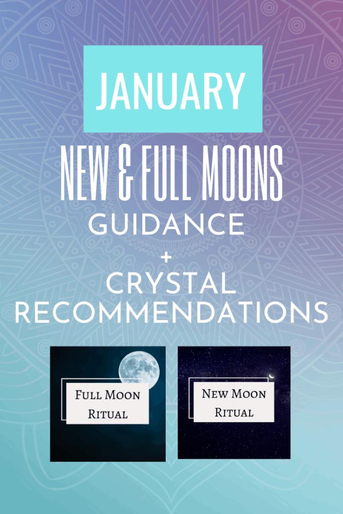 January New and Full Moon Ritual