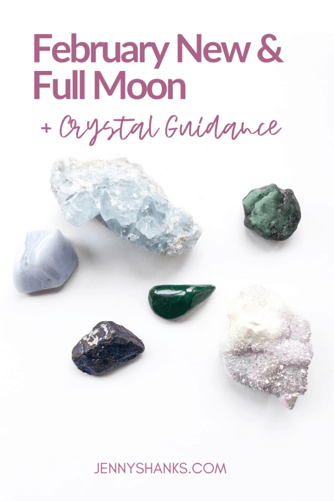 February moons and crystal guidance