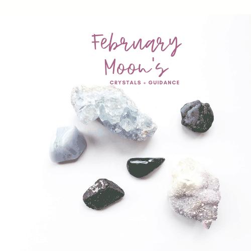 February New and Full Moon Crystal Guidance Jenny Shanks