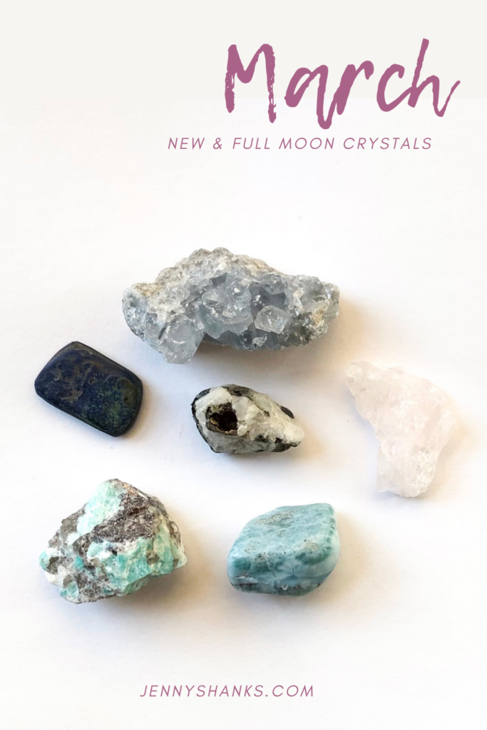 march moons and crystal guidance