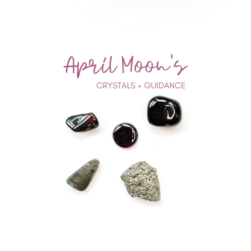 April Moon and Crystal Guidance Jenny Shanks