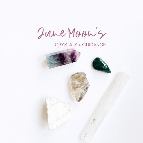 June New and Full Moon Crystal Guidance Jenny Shanks
