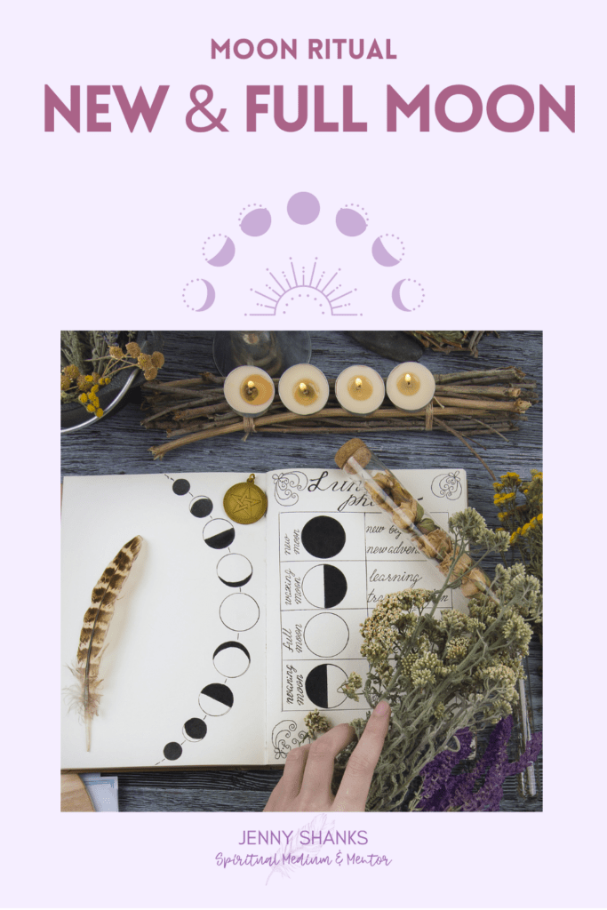 June new and full moon rituals