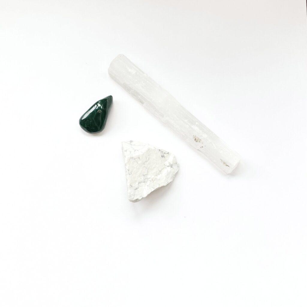 June new moon crystals