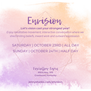 Envision 2022 hosted by Jenny Shanks Spiritual Medium