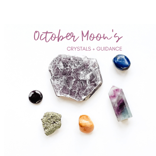 October New and Full Moon Crystal Guidance Jenny Shanks